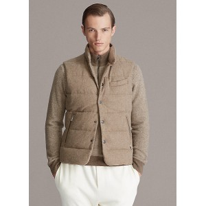 Whitwell Tweed Down Vest