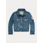 Boys' Denim Trucker Jacket