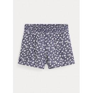Floral Cotton-Blend Short