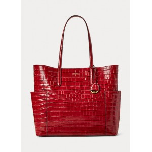 Large Leather Carlyle Tote