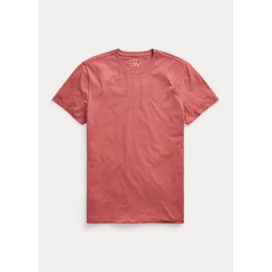 Cotton Jersey Crewneck T-Shirt