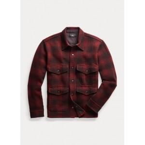 Plaid Wool Workshirt Sweater