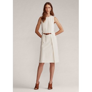 Gabriela Wool Crepe Day Dress
