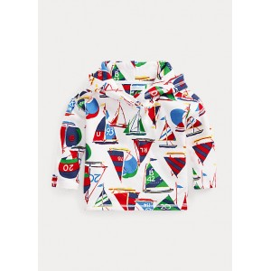 Nautical Cotton Terry Hoodie