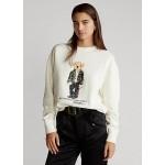Holiday Polo Bear Fleece Sweatshirt