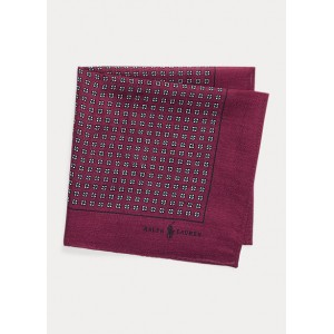Wool Challis Pocket Square