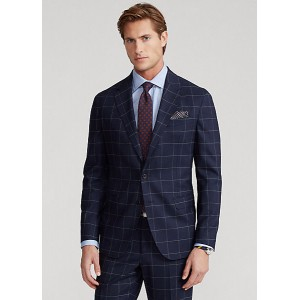 Polo Soft Checked Stretch Suit Jacket