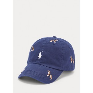 Embroidered Chino Cap