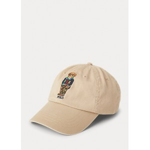 Polo Bear Chino Ball Cap