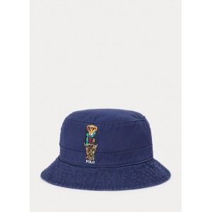 Polo Bear Chino Bucket Hat
