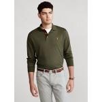 Soft Cotton Long-Sleeve Polo