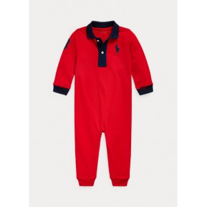 Big Pony Mesh Polo Coverall