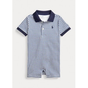 Houndstooth Cotton Shortall