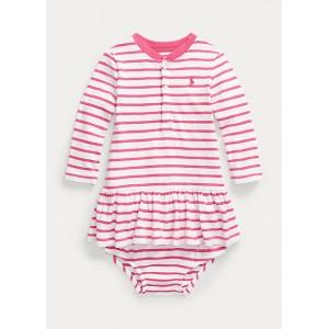Striped Mesh Dress  Bloomer