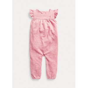 Terry Flutter-Sleeve Overall