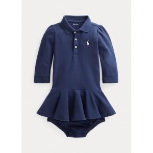 Piqué Polo Dress  Bloomer
