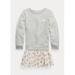 Floral-Skirt Swea...