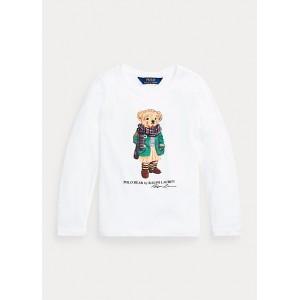 Polo Bear Long-Sleeve Cotton Tee