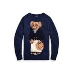 Polo Bear Cotton-Blend Sweater