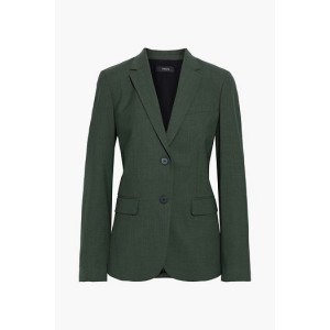 Dark green Classic wool-blend blazer
