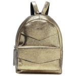 Gold Cassie appliqued leather backpack