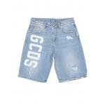 GCDS Mini - Denim shorts