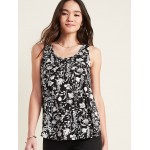 Luxe Printed Swing Tank for Women