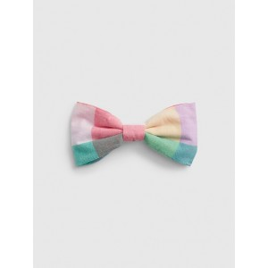 Toddler Plaid Bow Tie