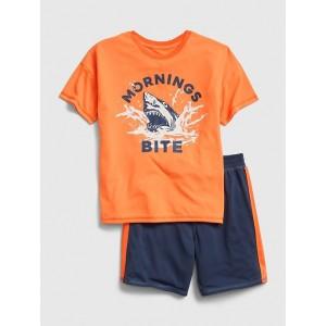 Kids Shark Short PJ Set