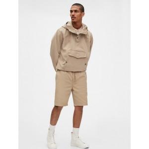 "Gap Originals 12"" Pleated Khaki Shorts"