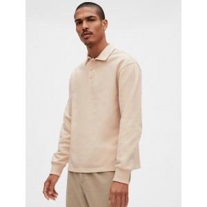 Gap Originals Rugby Polo Shirt in French Terry