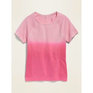 Fitted Go-Dry Seamless Tee for Girls