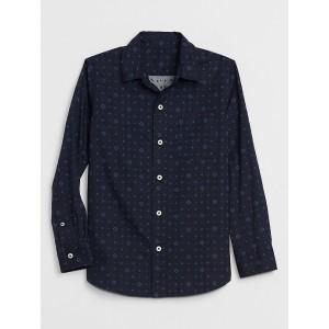 Kids Poplin Long Sleeve T-Shirt