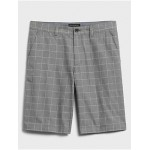 11 Emerson Straight-Fit Windowpane Shorts