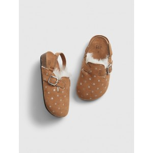 Toddler Sherpa Lined Slip-Ons