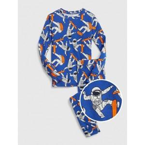 Kids Astronaut Long Sleeve PJ Set