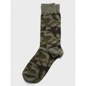 Camo Print Socks