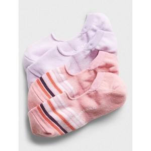 Striped Print Low Cut Socks (2 Pack)