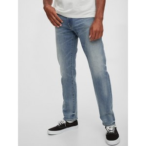 Soft Wear Athletic Taper Jeans with GapFlex