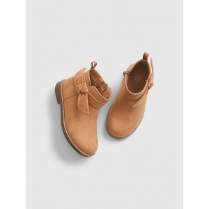 Toddler Bow Ankle Boots