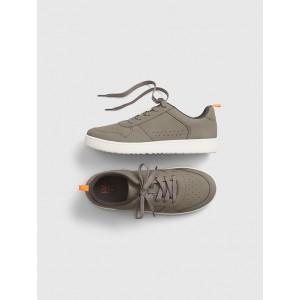 Kids Grey Sneakers