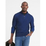 SUPIMA® Half-Zip Sweater