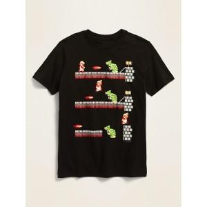 Super Mario&#153 8-Bit Digital Graphic Unisex Tee for Kids