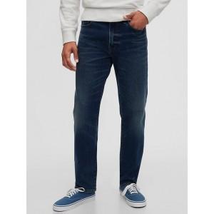 Soft Wear Slim Straight Jeans with GapFlex