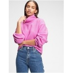 Fleece Turtleneck Sweatshirt