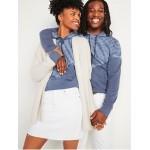 Gender-Neutral Placed Tie-Dye Pullover Hoodie for Men & Women