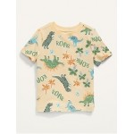 Short-Sleeve Printed Tee for Toddler Boys