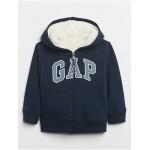 Toddler Cozy Gap Logo Sherpa Hoodie