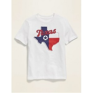 Texas Graphic Soft-Washed Tee for Boys
