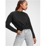 Vintage Soft Twist-Front Crewneck Sweatshirt